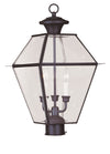 Livex Lighting Westover Bronze Outdoor Post Lantern 2384-07