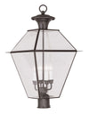 Livex Lighting Westover Bronze Outdoor Post Lantern 2388-07