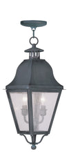 Livex Lighting Amwell Charcoal Outdoor Chain Lantern  2546-61