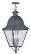 Livex Lighting Amwell Charcoal Outdoor Chain Lantern  2547-61