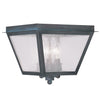 Livex Lighting Amwell Charcoal Outdoor Ceiling Mount 2549-61