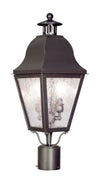 Livex Lighting Amwell Bronze Outdoor Post Lantern 2552-07