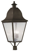 Livex Lighting Amwell Bronze Outdoor Post Lantern 2554-07