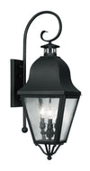 Livex Lighting Amwell Black Outdoor Wall Lantern 2555-04