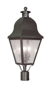 Livex Lighting Amwell Bronze Outdoor Post Lantern 2556-07