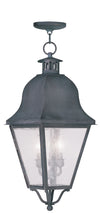 Livex Lighting Amwell Charcoal Outdoor Chain Lantern  2557-61
