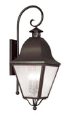 Livex Lighting Amwell Bronze Outdoor Wall Lantern 2558-07