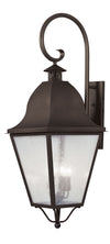 Livex Lighting Amwell Bronze Outdoor Wall Lantern 2559-07