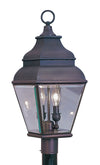 Livex Lighting Exeter Bronze Outdoor Post Lantern 2592-07