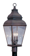 Livex Lighting Exeter Bronze Outdoor Post Lantern 2594-07