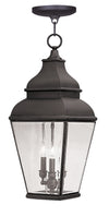 Livex Lighting Exeter Bronze Outdoor Chain Lantern  2597-07