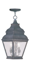 Livex Lighting Exeter Charcoal Outdoor Chain Lantern  2604-61