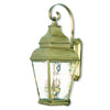 Livex Lighting Exeter Antique Brass Outdoor Wall Lantern 2605-01