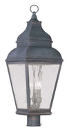 Livex Lighting Exeter Charcoal Outdoor Post Lantern 2606-61