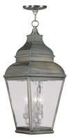 Livex Lighting Exeter Bronze Outdoor Chain Lantern  2610-29