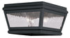 Livex Lighting Exeter Charcoal Outdoor Ceiling Mount 2611-04