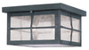 Livex Lighting Brighton Hammered Charcoal Finish Outdoor Ceiling Mount 2689-61