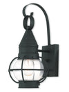 Livex Lighting Newburyport Black Wall Lantern 26900-04