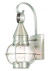 Livex Lighting Newburyport Brushed Nickel Wall Lantern 26900-91