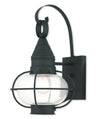 Livex Lighting Newburyport Black Wall Lantern 26901-04