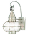 Livex Lighting Newburyport Brushed Nickel Wall Lantern 26901-91
