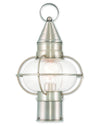 Livex Lighting Newburyport Brushed Nickel Post Lantern 26902-91