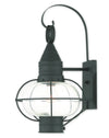 Livex Lighting Newburyport Black Wall Lantern 26904-04