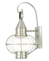 Livex Lighting Newburyport Brushed Nickel Wall Lantern 26904-91