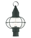 Livex Lighting Newburyport Black Post Lantern 26905-04