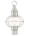Livex Lighting Newburyport Brushed Nickel Post Lantern 26905-91
