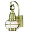 Livex Lighting Newburyport Antique Brass Wall Lantern 27000-01