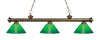 Z-Lite Riviera Antique Brass 200-3AB-GCG14 Island/Billiard Light