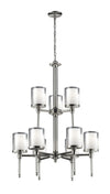 Z-Lite Argenta 1908-9 Chandelier Light