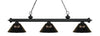 Z-Lite Riviera Matte Black 200-3MB-ARS Island/Billiard Light