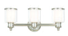 Livex Lighting Middlebush Polished Nickel Bath Vanity 40213-35