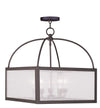 Livex Lighting Milford Bronze Lantern 4057-07