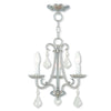 Livex Lighting Daphne Brushed Nickel Mini Chandelier 40873-91