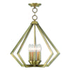 Livex Lighting Prism Antique Brass Chandelier 40925-01