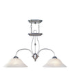 Livex Lighting Home Basics Brushed Nickel Island 4172-91