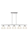 Livex Lighting Somerset Brushed Nickel Island 4227-91