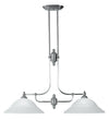 Livex Lighting North Port Brushed Nickel Island 4252-91