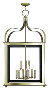 Livex Lighting Garfield Antique Brass Lantern 43180-01
