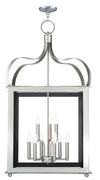 Livex Lighting Garfield Brushed Nickel Lantern 43180-91