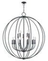 Livex Lighting Milania Bronze Foyer Chandelier 46690-07