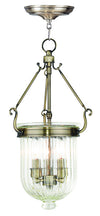 Livex Lighting Coventry Antique Brass Pendant 50515-01