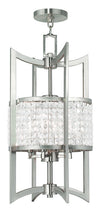 Livex Lighting Grammercy Brushed Nickel Lantern  50566-91