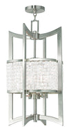 Livex Lighting Grammercy Brushed Nickel Lantern  50567-91