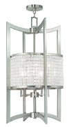 Livex Lighting Grammercy Brushed Nickel Lantern  50569-91