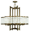 Livex Lighting Grammercy Hand Painted Palacial Bronze Chandelier 50578-64