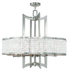 Livex Lighting Grammercy Brushed Nickel Chandelier 50578-91